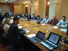 MSG Meeting on covering the operational results of Ukraine's extractive industries in 2014-2015