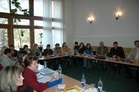 Training for the workers in the field of HCS