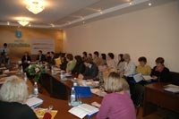 Intenational seminar in Ukrainka City